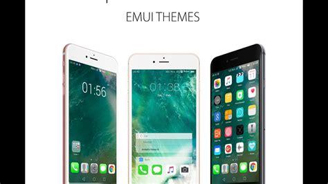 emui themes ios newest ios 10 theme for emui huawei theme youtube