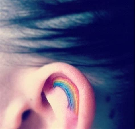 small rainbow tattoos 20 best pride tattoos