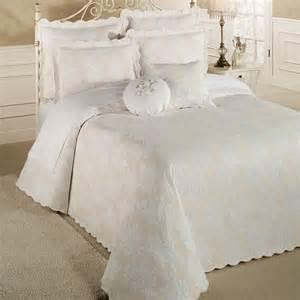 King Size Matelasse Coverlets Floral Medley Woven Matelasse Oversized Bedspread Bedding