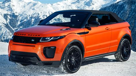 orange range rover evoque range rover evoque convertible 2 0d hse dynamic 2016