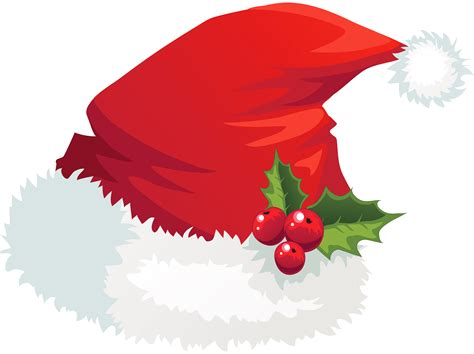 16 christmas santa hat clipart merry christmas