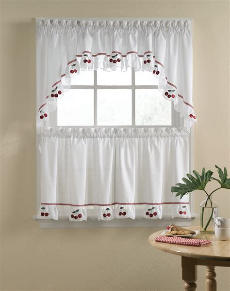 How To Make Cafe Curtains For Kitchen Kitchen Curtain Ideas Patterns Kitchen And Decor