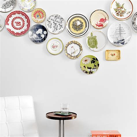 plate wall decor diy popsugar home
