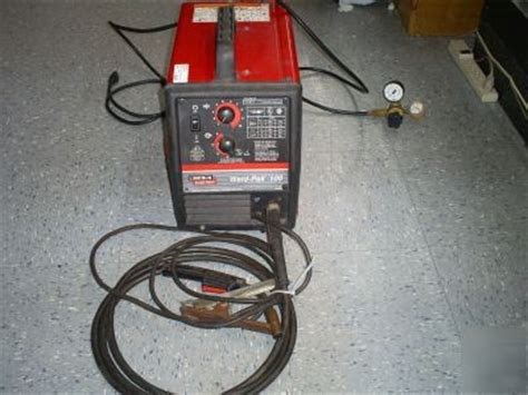 lincoln weldpak 100 lincoln electric weld pak 100 no wow