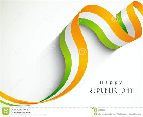 color nation national flag color stripes for indian republic day stock