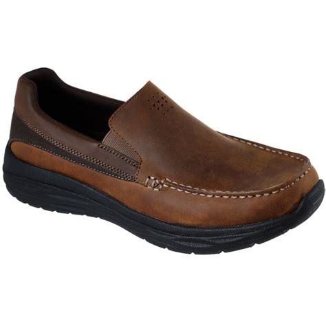 Skechers Loafers by Skechers Harsen Ortego Mens Casual Slip On Loafers