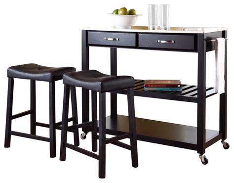 kitchen island cart with stools crosley stainless steel top kitchen cart island with