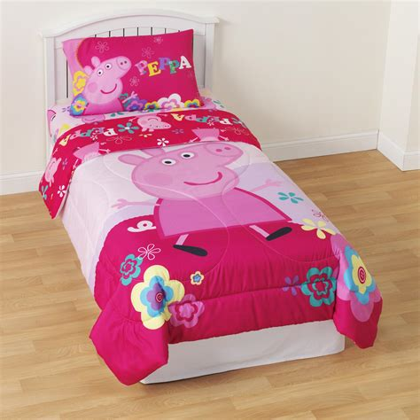 pig bedroom peppa pig microfiber comforter home bed bath