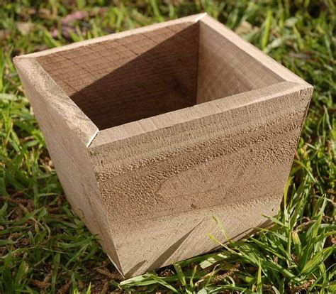 small wooden planter boxes pdf diy small wood boxes for crafts single plan woodideas
