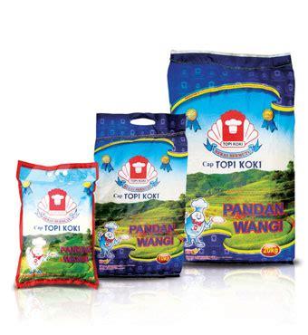 Topi Koki Setra Ramos Beras 20 Kg 10 merk beras yang bagus dan berkualitas di indonesia