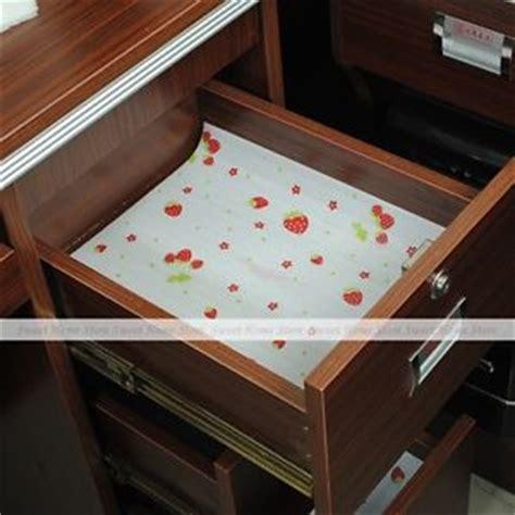 kitchen cabinet shelf paper 3 roll cute red strawberry shelf paper cabinet drawer