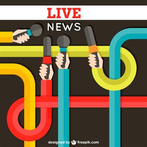 live news live news vector free