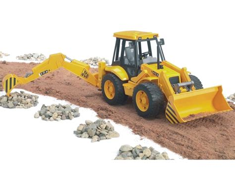 bruder toys jcb toy 4cx backhoe loader by bruder 02428 farm toys online