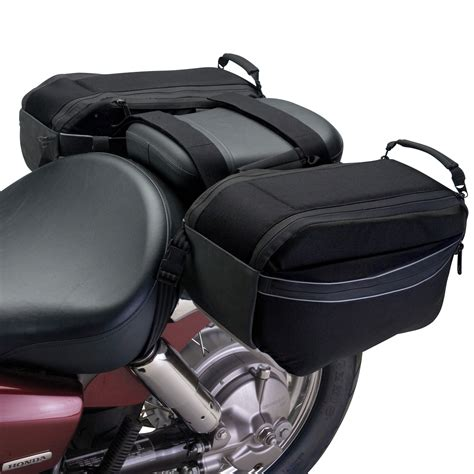 saddle bags luggage motorcycle bike storage back cargo