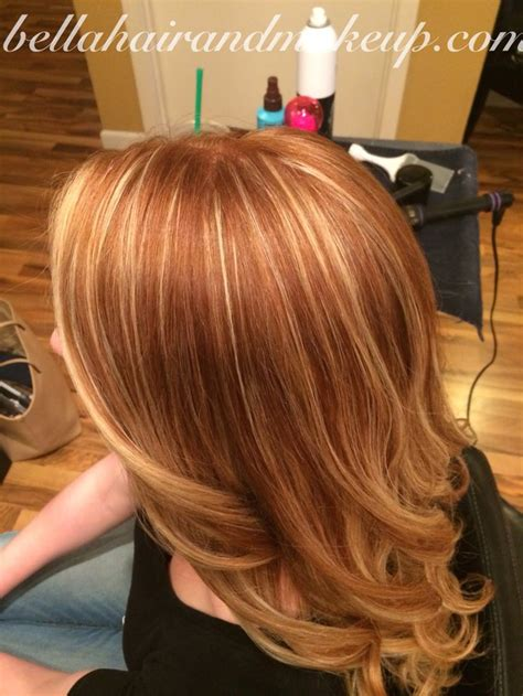 foils with red blonde chin length hair natural red balayage www imgkid com the image kid has it