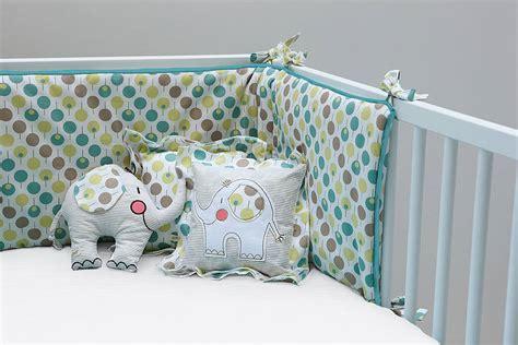 Cot Bed Bumper Sets Uk Cot Bumper Set For Boy Or By Ella Otto Notonthehighstreet