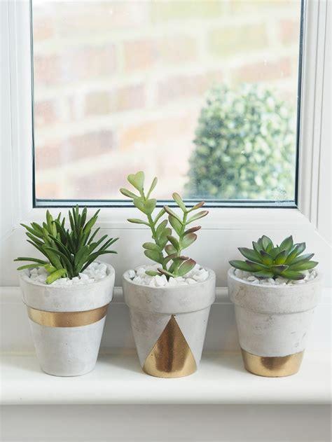 succulent planter diy for under 10 weed em reap gold concrete succulent planters diy bang on style