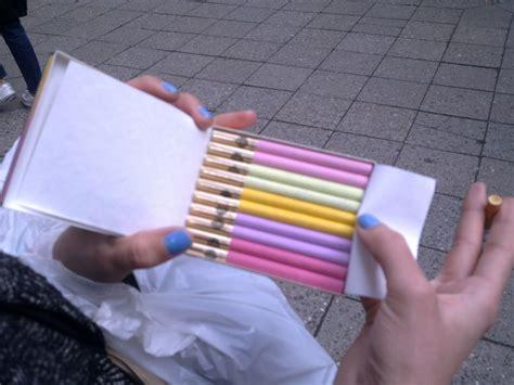 colorful cigarettes smoke cigarettes smoke cigar pink colorful sobranie