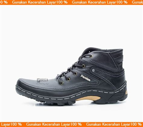 jual sepatu boot pria sepatu boots kulit boot model