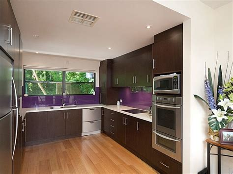 modern u shaped kitchen designs modern u shaped kitchen design using floorboards kitchen