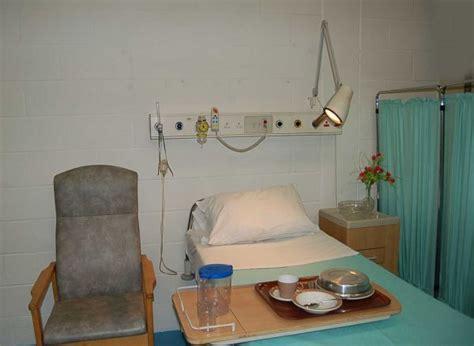 bed setup hospital ward one bed set up modern hospital film set