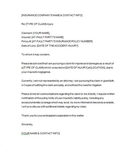 21 notice letter template free sle exle format
