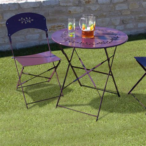 table bistrot jardin