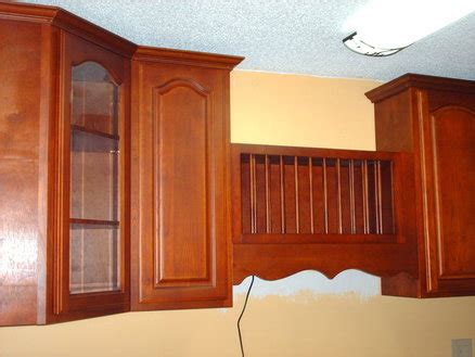 kitchen cabinet with crown molding by cobra5
