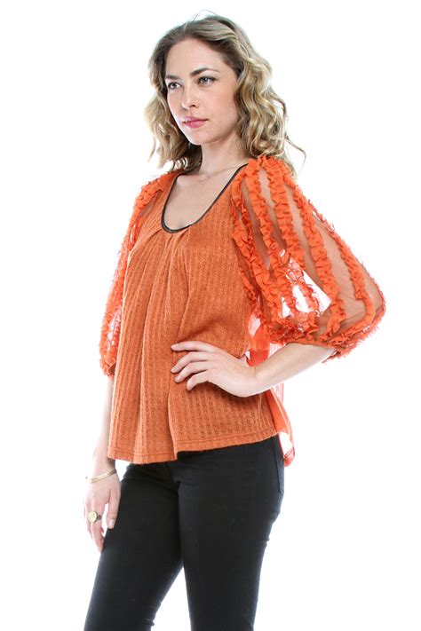 Ryu Top Blouse ryu ruffle top from by fawn shoptiques