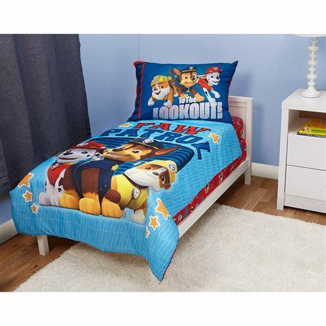 paw patrol    piece toddler bedding set
