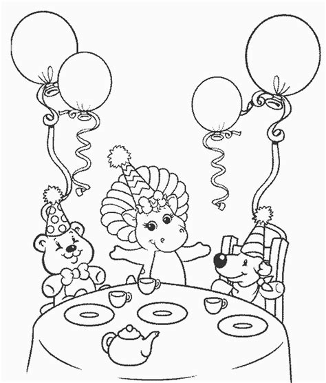happy 1st birthday coloring pages birthday coloring pages
