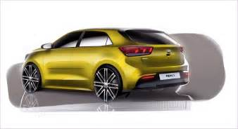 Carros Kia 2017 Kia Rear Three Quarters Rendering Indian Autos