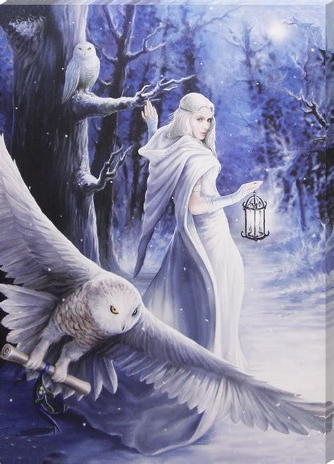 Large Wall Stickers anne stokes midnight messenger canvas print buy online