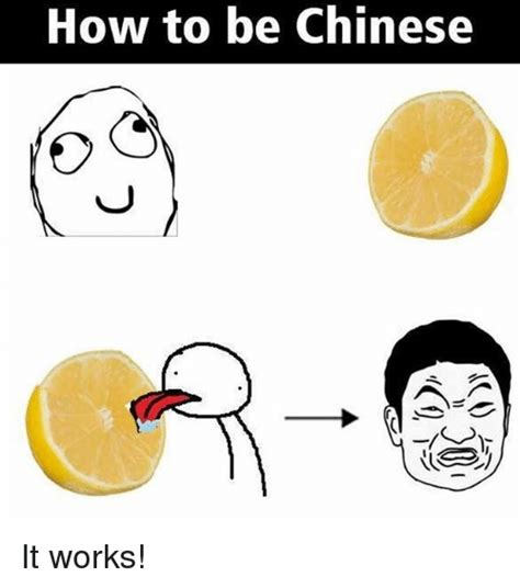 how to be an how to be chinese it works meme on sizzle