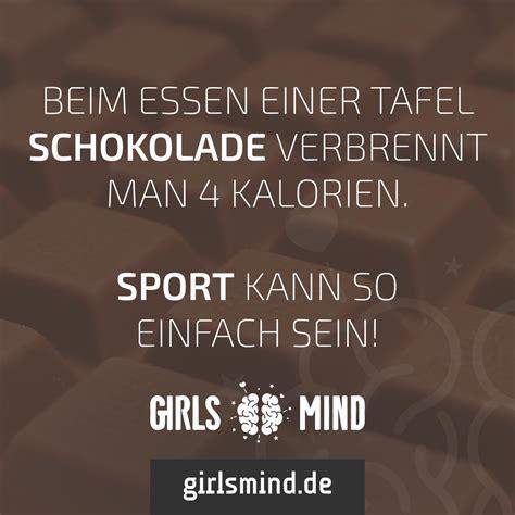 kalorien tafel schokolade mehr spr 252 che auf www girlsmind de schokolade sport