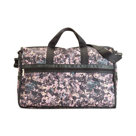 Lesportsac Large Weekender Bag lesportsac large weekender bag in purple bohemian lyst