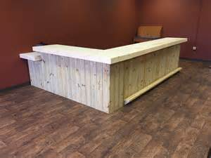 Rustic Reception Desk The Lounge Up To 20 Rustic Retail Sales Counter