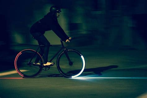 Bicycle Lighting by Revolights Skyline Bicycle Lighting System The Green