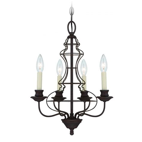 Candle Sleeves For Chandeliers Elstead Lighting Quoizel Laila 4 Light Rustic Antique Bronze Chandelier With Ivory Candle