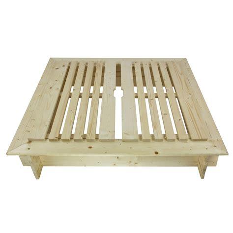 überdachung aus holz sandkasten sandspielkasten aus holz mit abdeckung