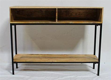 bunty console  open shelves console table metal
