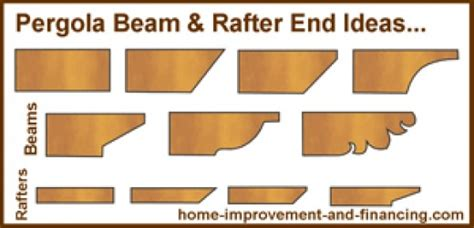pergola rafter end designs home improvement exterior design pergolas hubpages