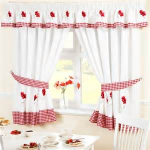 Poppy Kitchen Curtains Poppies Pencil Pleat Kitchen Curtains 46 X 42 Oeohhds From Ideal Textiles At 163 17 60