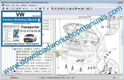 small engine repair manuals free download 1989 volkswagen type 2 lane departure warning vw transporter workshop service repair manual