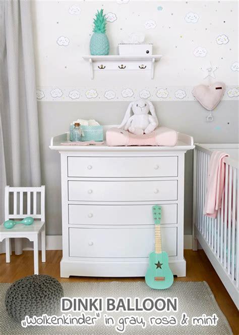 babyzimmer rosa grau kinderzimmer deko rosa grau execid