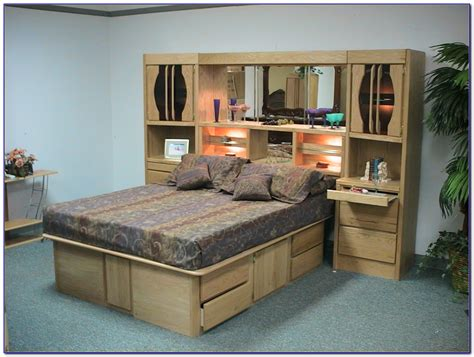 wall unit bedroom set oak wall unit bedroom set bedroom home design ideas
