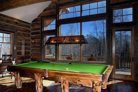 log pool table log pool tables rustic billiards