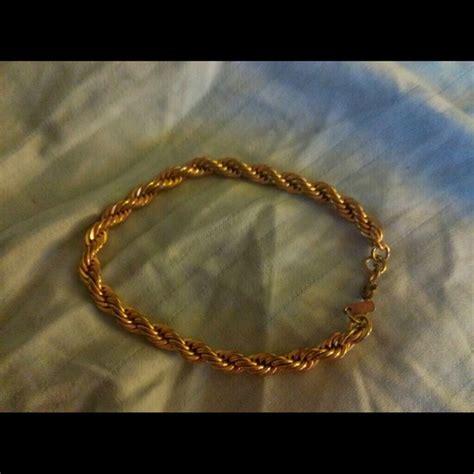 monet vintage monet gold tone bracelet from s closet