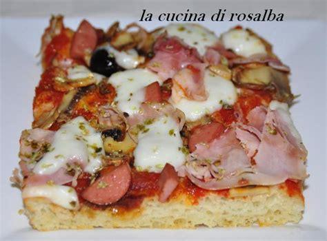 gusti pizza fatta in casa pizza fatta in casa ricetta