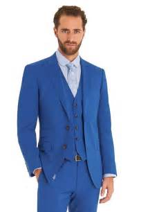 New arrival royal blue groom tuxedos peaked lapel wedding suits for